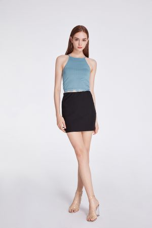 NEPTUNE CREW SINGLET WITH LACE