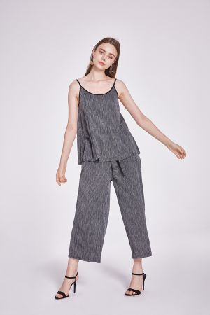 RIVIERA GATHERED PANT WITH TIE
