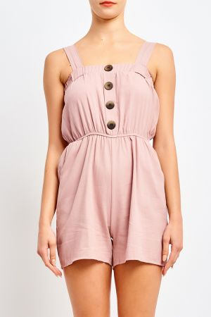 PABLO BUTTON PLAYSUIT