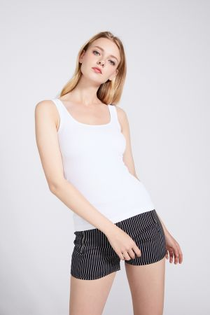 ALONA RIBBED TANK TOP (322180)