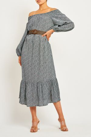 JESS OFF SHOULDER MAXI DRESS