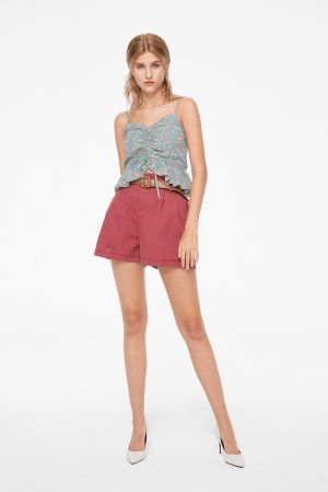 HONEY PAPERBAG SHORTS WITH BELT