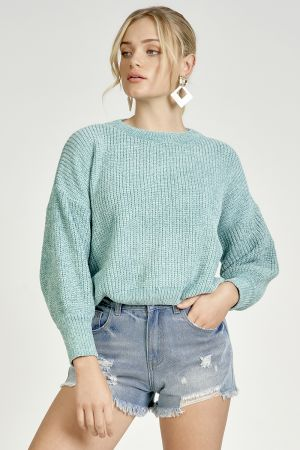 LUREX KNIT TOP (325713)