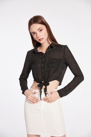 RODEO TIE BUTTON UP SHIRT