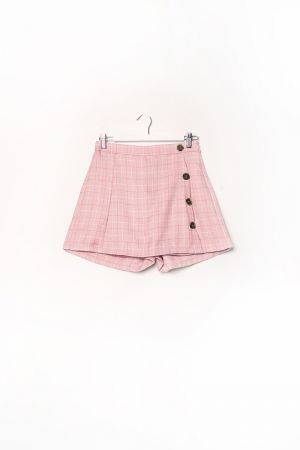GEIGINA BUTTON DETAIL SKORT