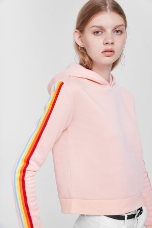 AVENUE STRIPE TRACK TOP