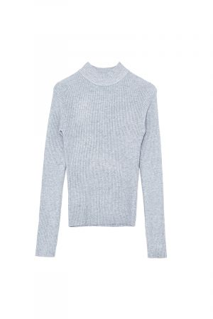 ZELDA HIGH NECK KNIT TOP