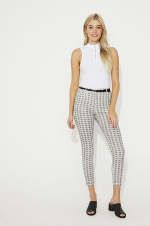 CASEY STRAIGHT LEG PANTS WITH BELT