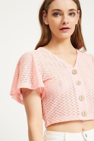 TANIA BUTTON UP TOP