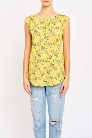 CATHERINE CONTRAST BACK TOP