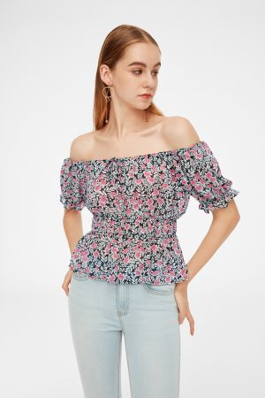 LISBETH PUFF SLEEVE TOP