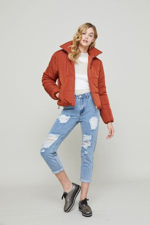 CARA PADDED SHORT JACKET