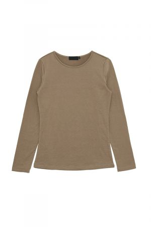 EVALIAH FLEECE LINED TOP