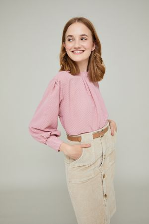 WILLOW HIGH NECK BLOUSE