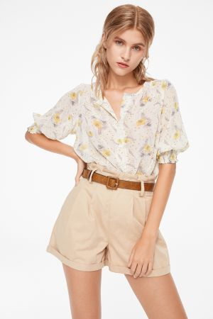 ANDROS PRINTED BLOUSE
