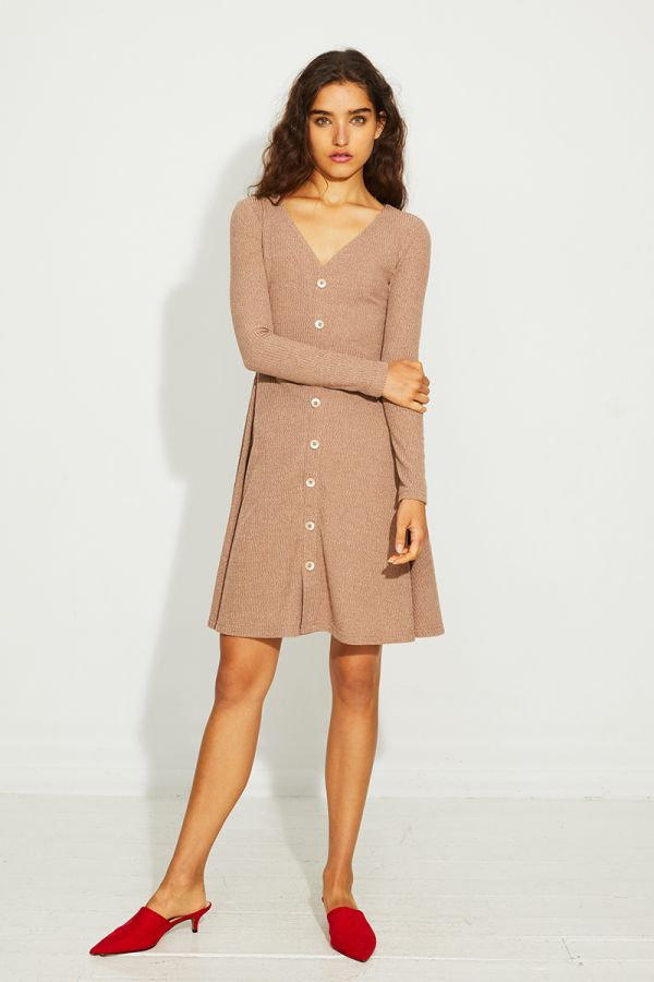 VALERIE FIT AND FLARE DRESS
