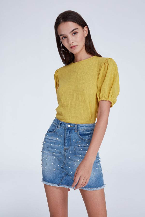 LIMA PUFF SLEEVE TOP