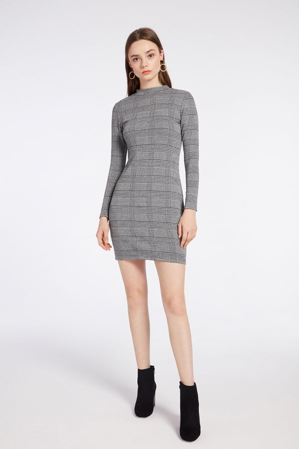 ASPEN LONG SLEEVE  DRESS