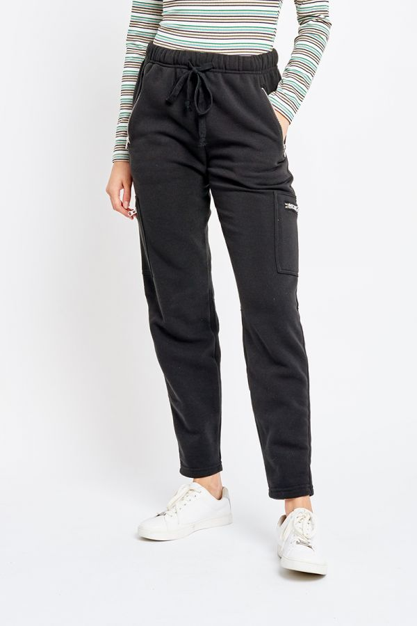 MIKHAILA ZIP DETAIL PANTS