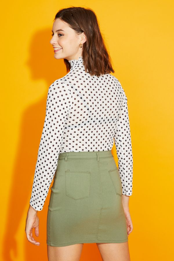 DORA POLKA DOTS TOP