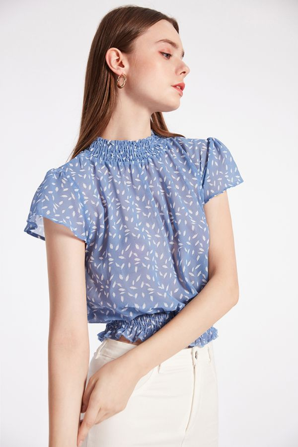DESIREE FLUTTER BLOUSE
