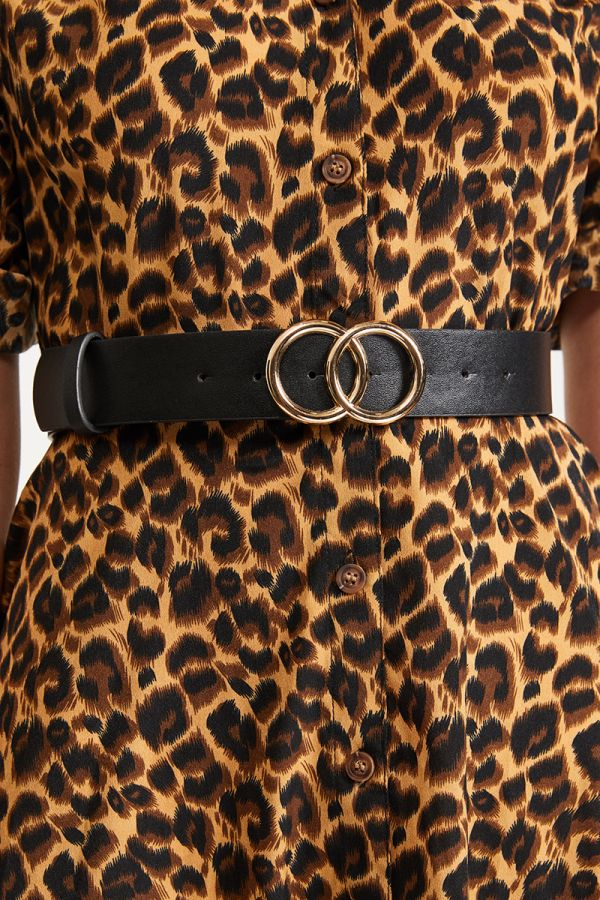 Double ring gold belt (318869)