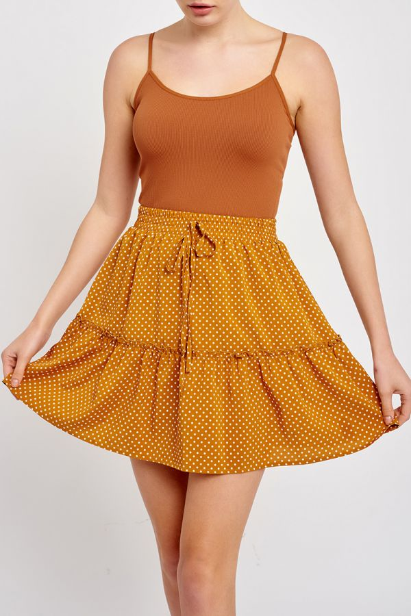 CLARISSA FLARE MINI SKIRT (320417)
