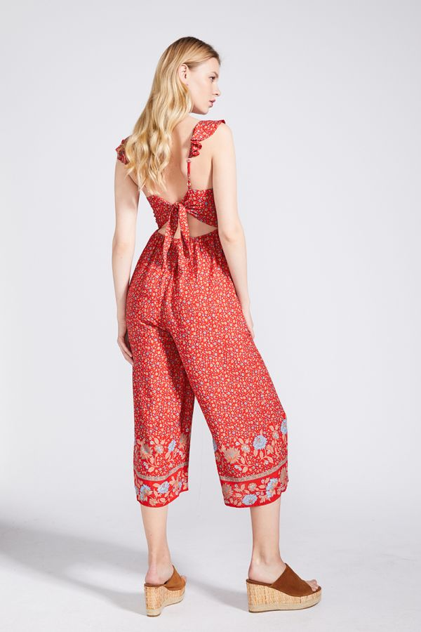 SANDRA V-NECK JUMPSUIT
