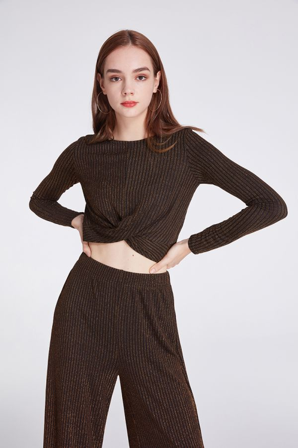 TILLIE PULL ON KNIT TOP