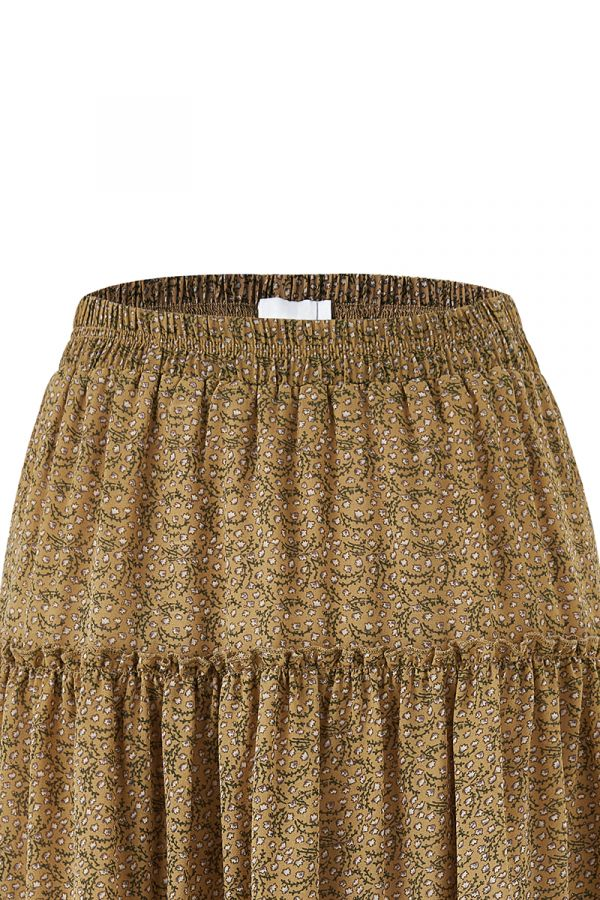 GYPSET TIERED SKIRT