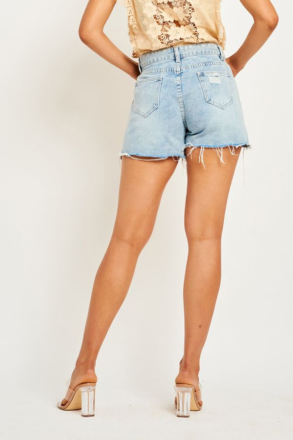 WILMA DENIM SHORTS
