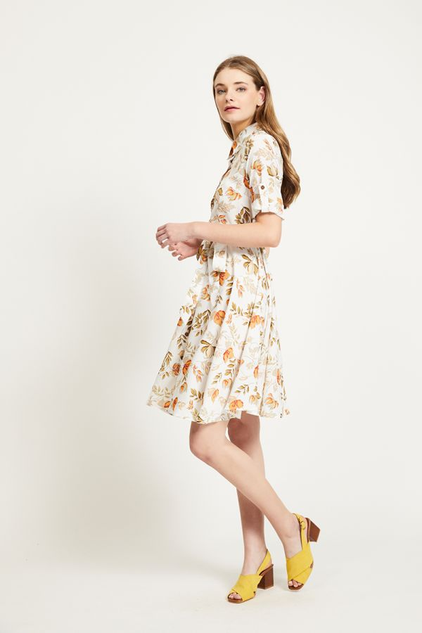 TESS SHIRT DRESS (321864)