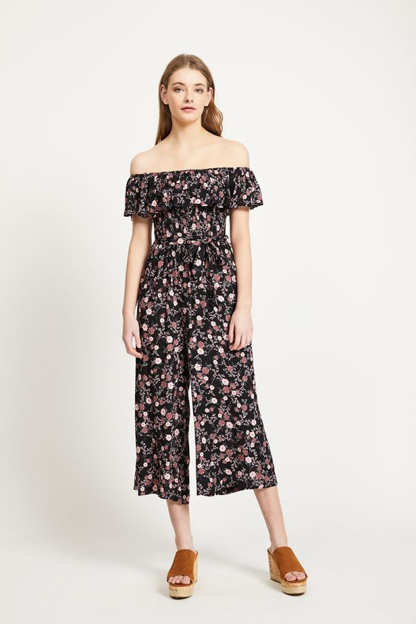 ZELIA OFF SHOULDER JUMPSUIT