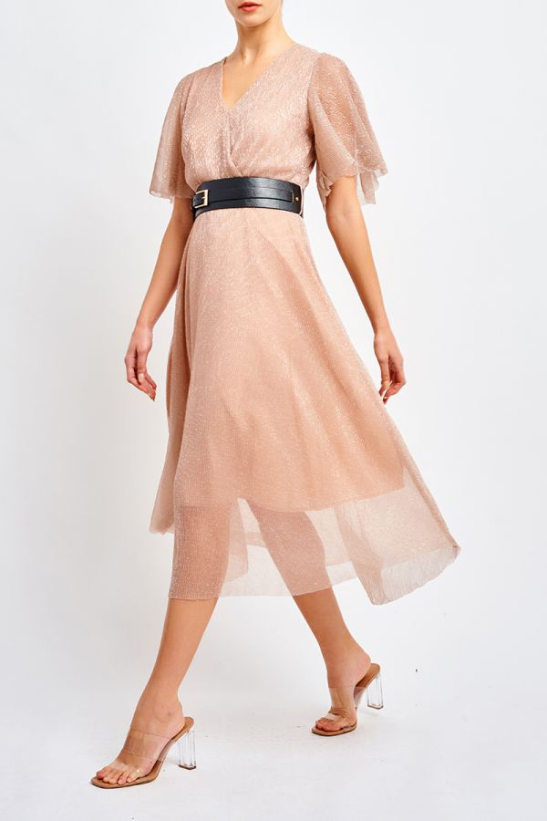 PHEONIX DRESS WITH BELT