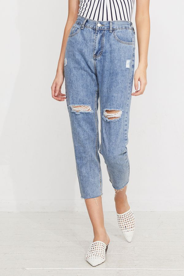 ISADORA RELAXED FIT JEANS