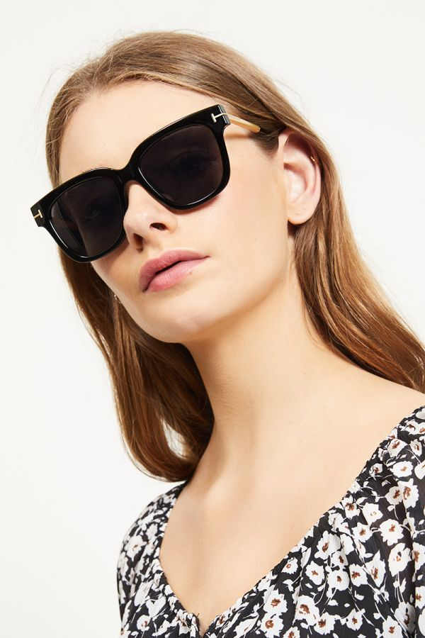 GOLD TONED ARMS SUNGLASSES (322445)