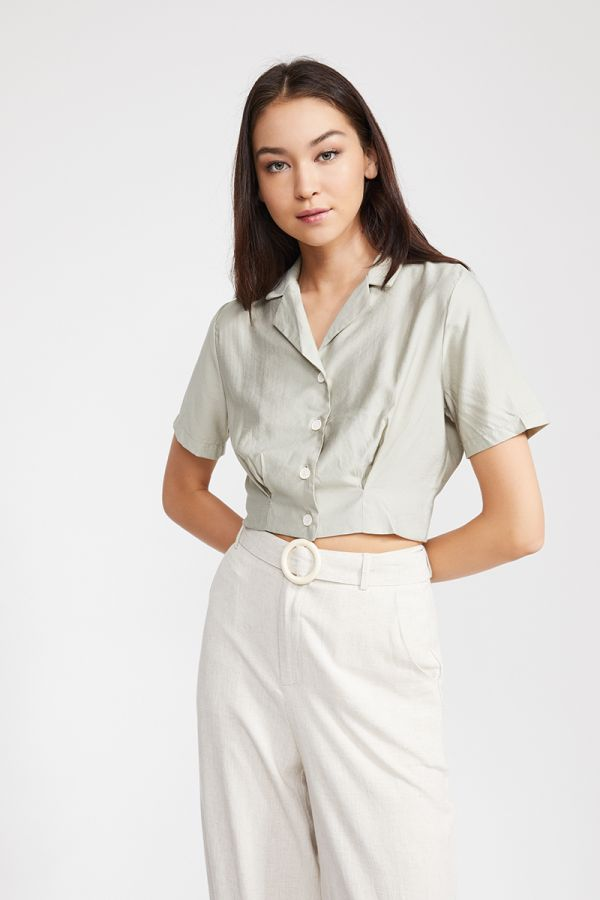 ELINOR CROP SHIRT