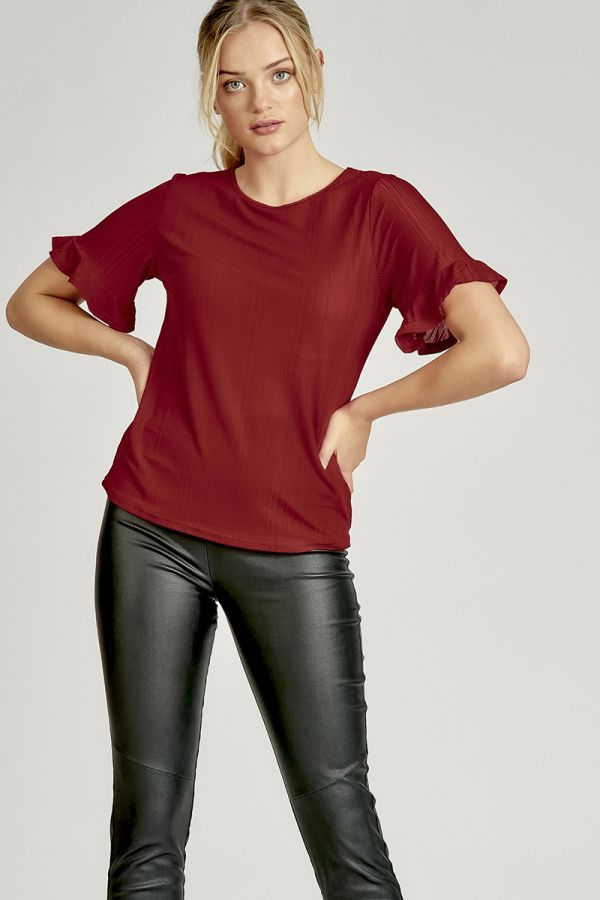 LYDIA BELL SLEEVE BLOUSE (322746)