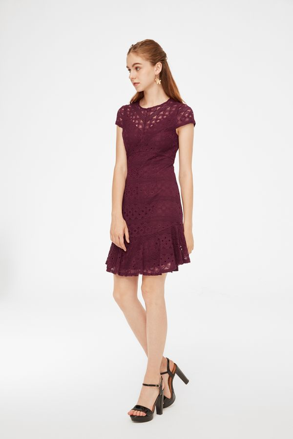 ESMERALDA LACE DRESS