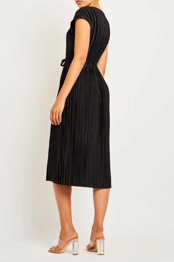 GEMMA TIE FRONT DRESS