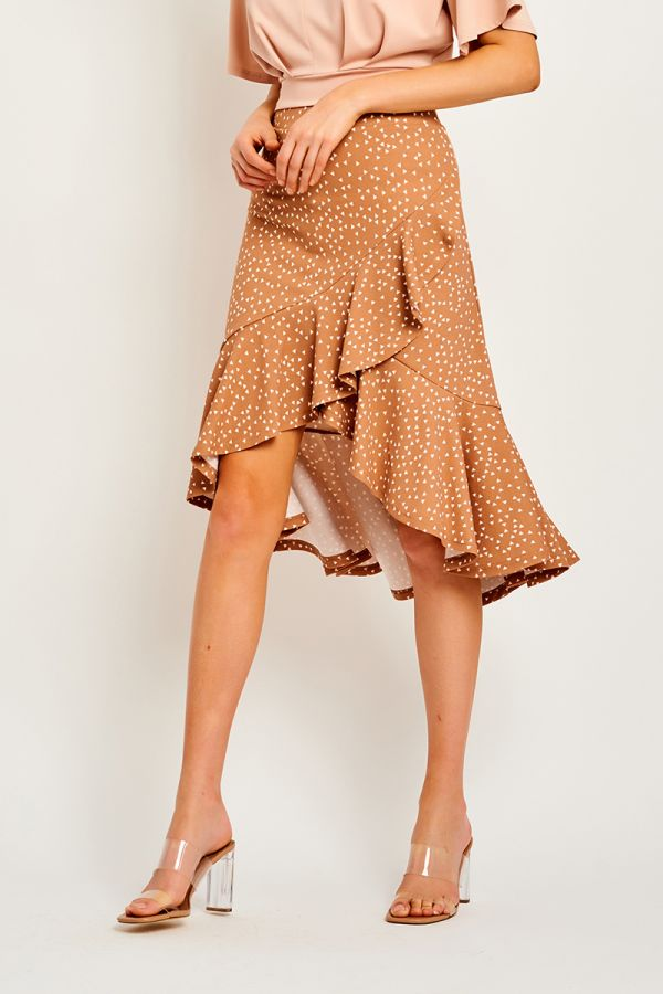 MARTHA RUFFLED SKIRT