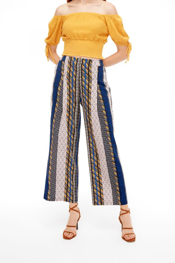 DESERT WIDE LEG PANTS
