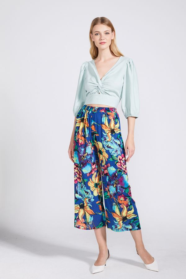LOUISA FLORAL PANTS