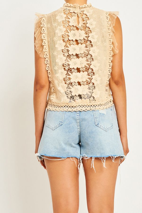 TATY BRODERIE BLOUSE