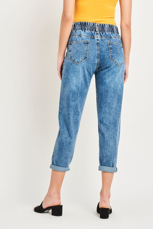 KHLOE DENIM PANTS (323283)