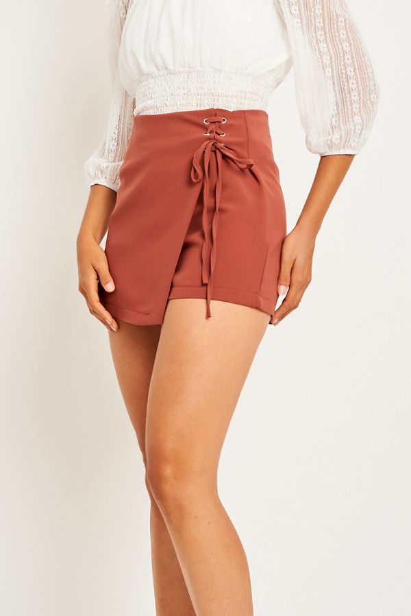 ASH SIDE TIE SKIRT (323602)