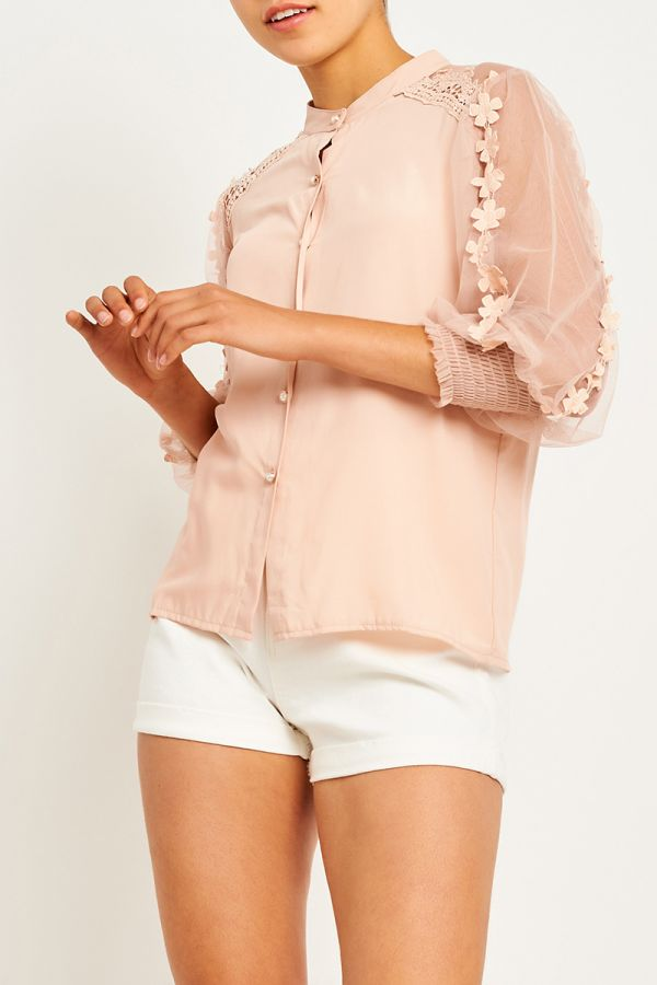 KYRA BOTTON UP SHIRT