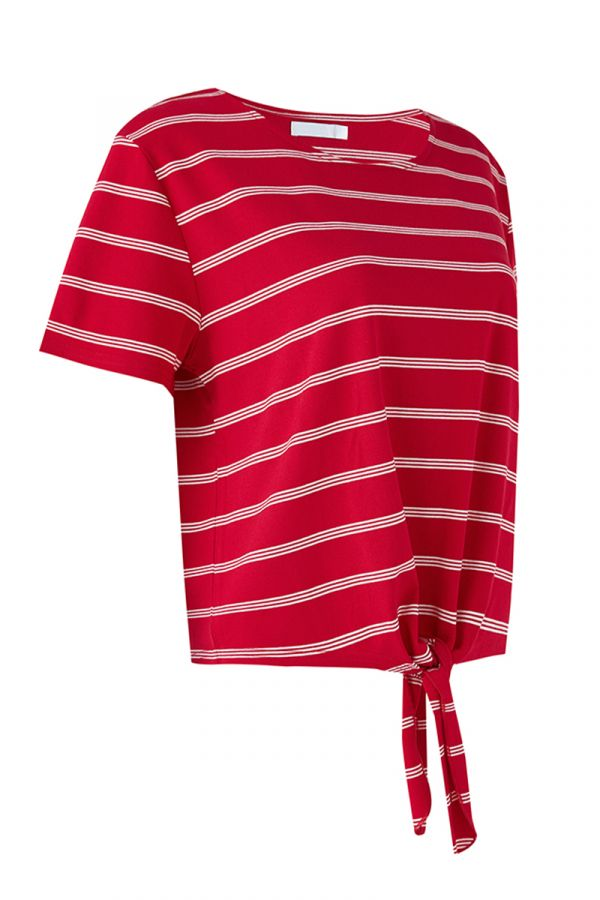 GUIA BASIC TIE FRONT TEE (324173)
