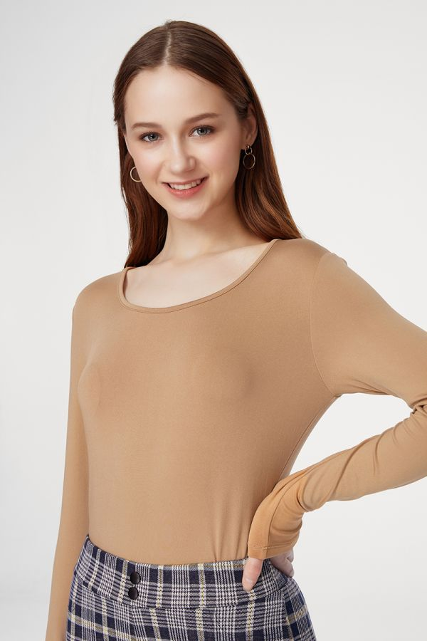 FLEECE INSIDE BASIC TOP (324300)