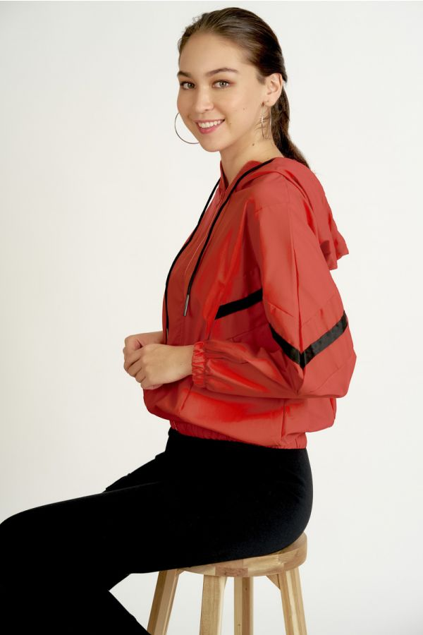 SPORTY HOODY ZIP UP JACKET (324318)